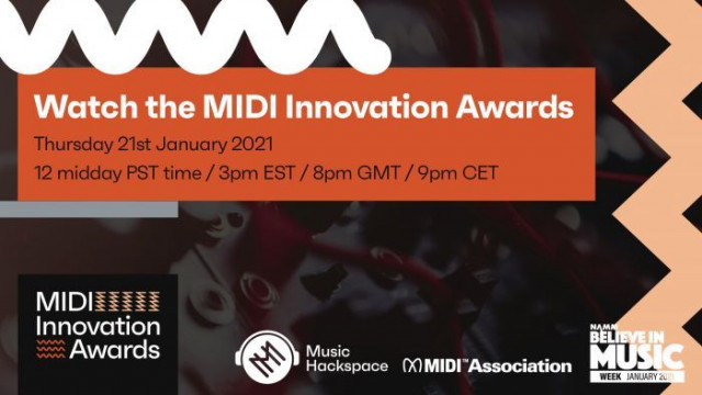 Music Hackspace, the MIDI Association and NAMM to host the first MIDI Innovation Awards