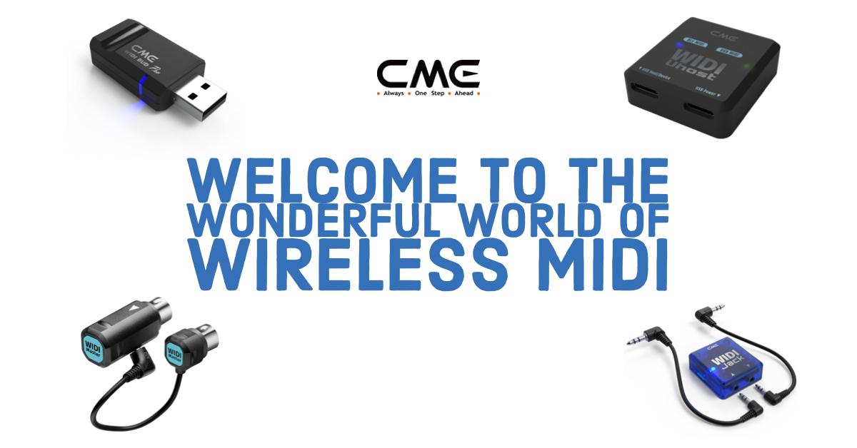 WIDI Wireless MIDI via Bluetooth by CME