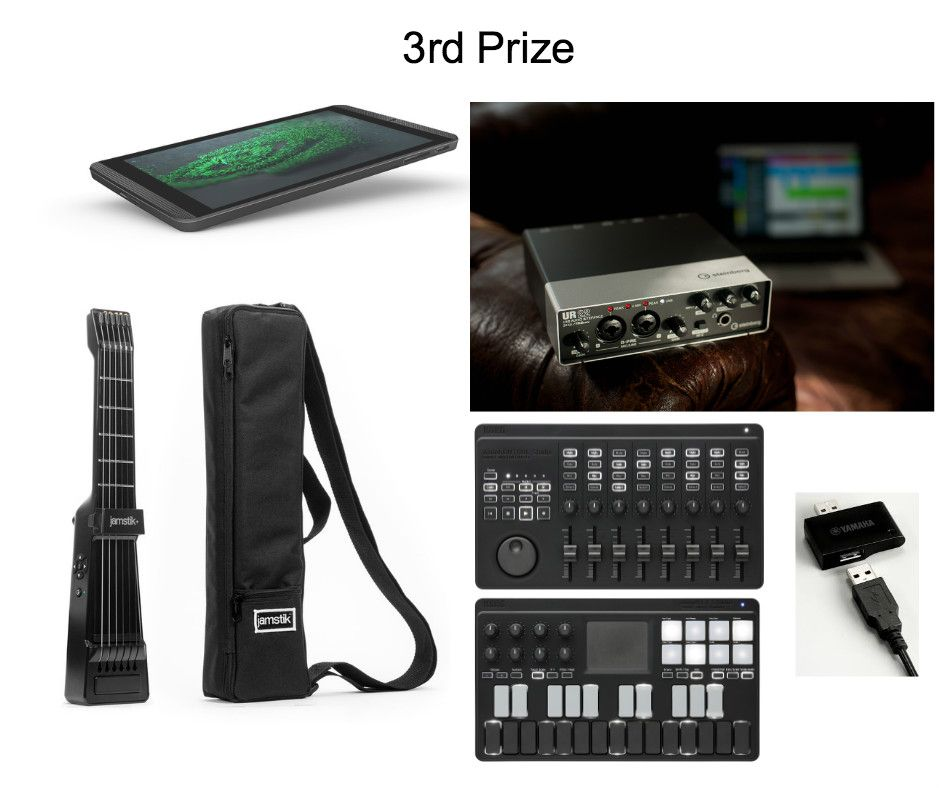 """#DigMyRig"""" 3rd Prize Package"""