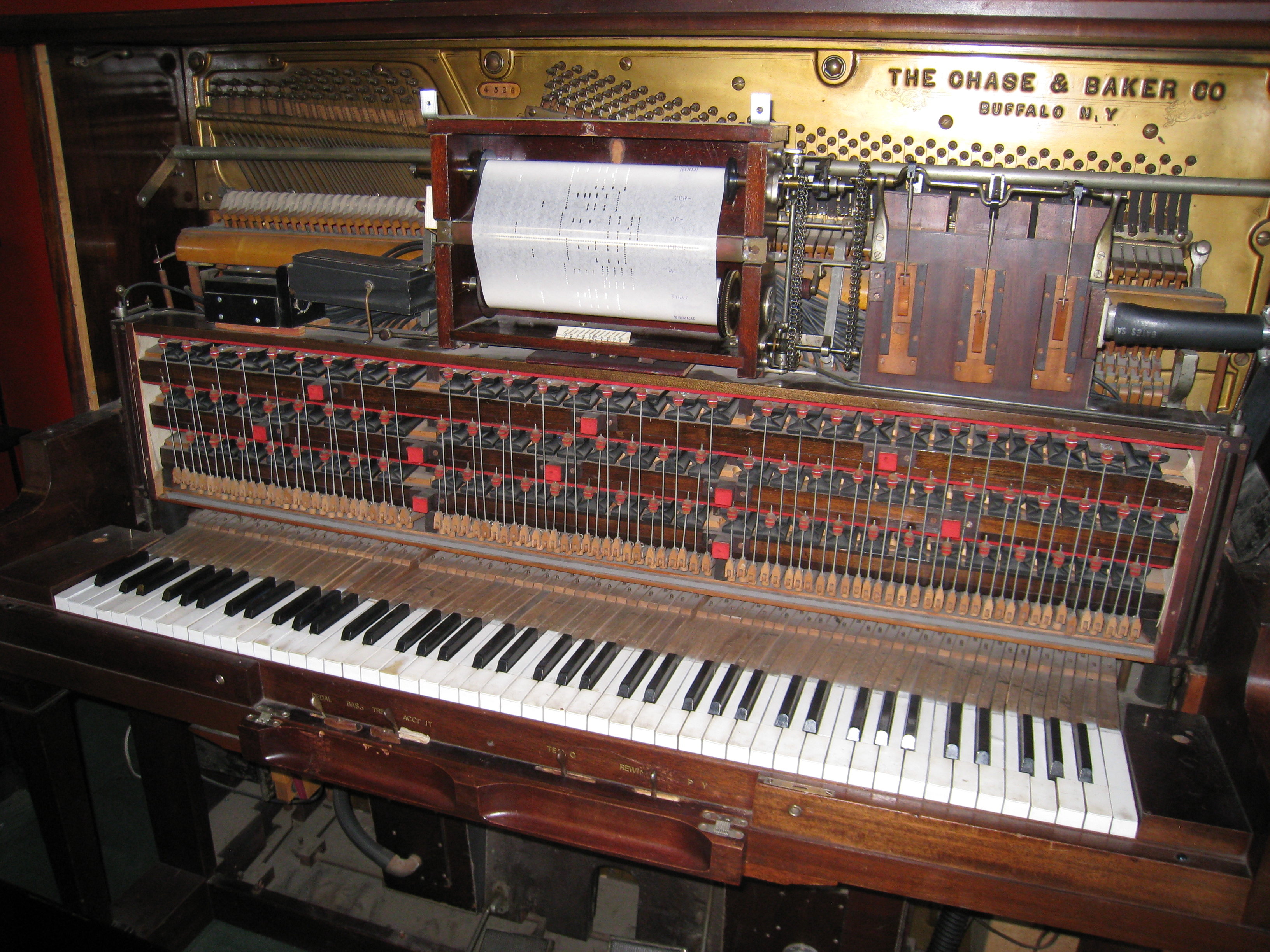 MIDI History:Chapter 2-Player Pianos             1850-1930