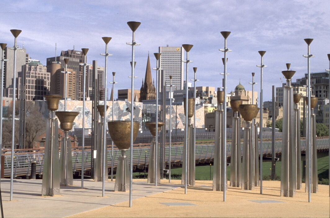 Federation Bells in Birrarung Marr, Melbourne