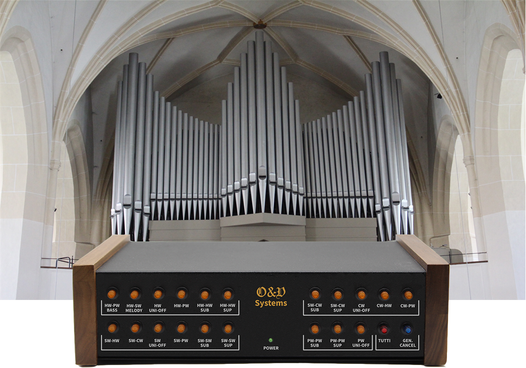 Virtual organ console unit: how to let your MIDI devices play as an organ