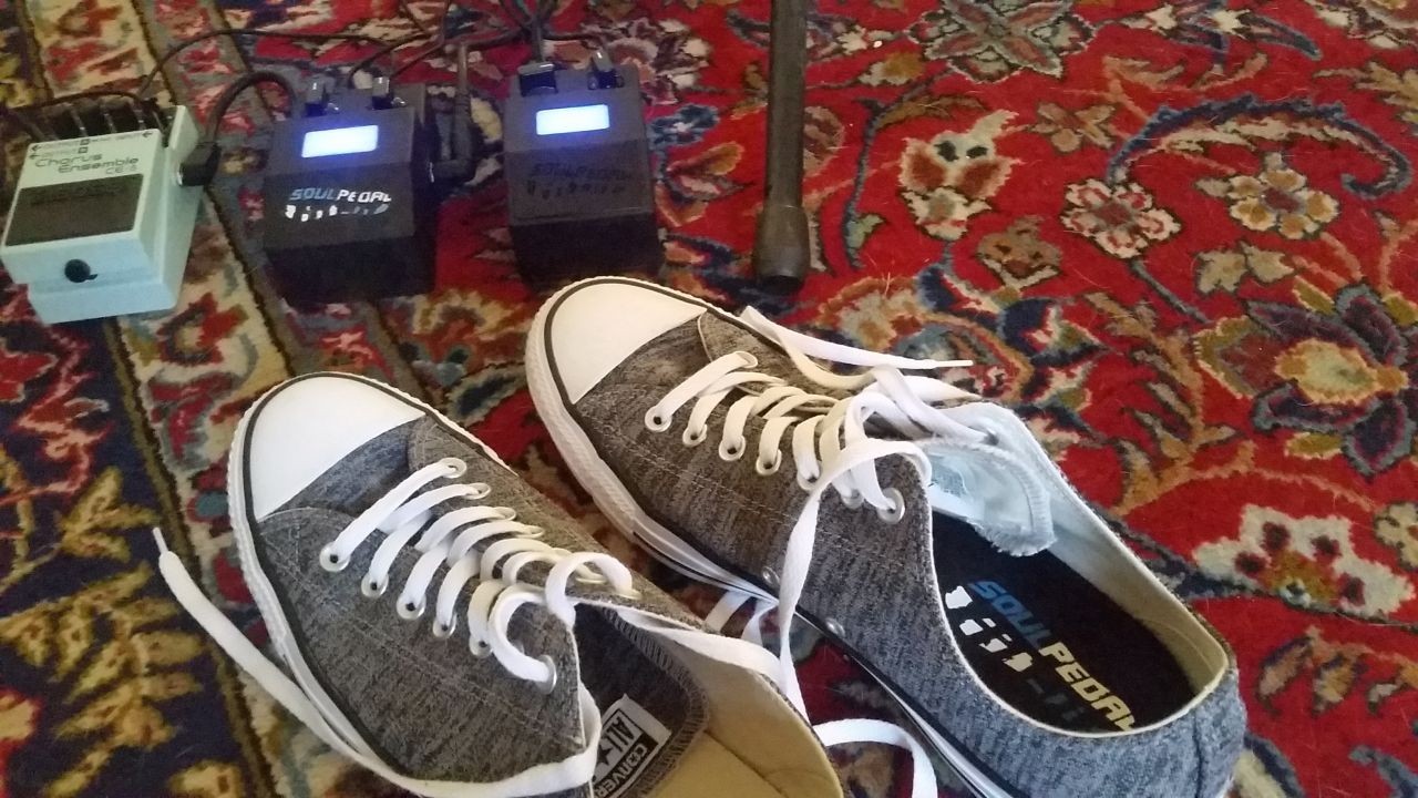 SoulPedal® Beta Testing Begins - A Wearable Expression Controller with MIDI in your Shoe?