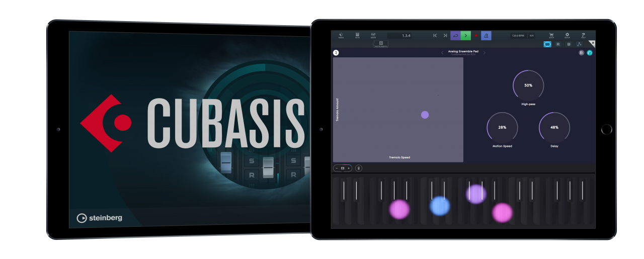 Cubasis 2.6 adds new MIDI features/Roli Blocks integration