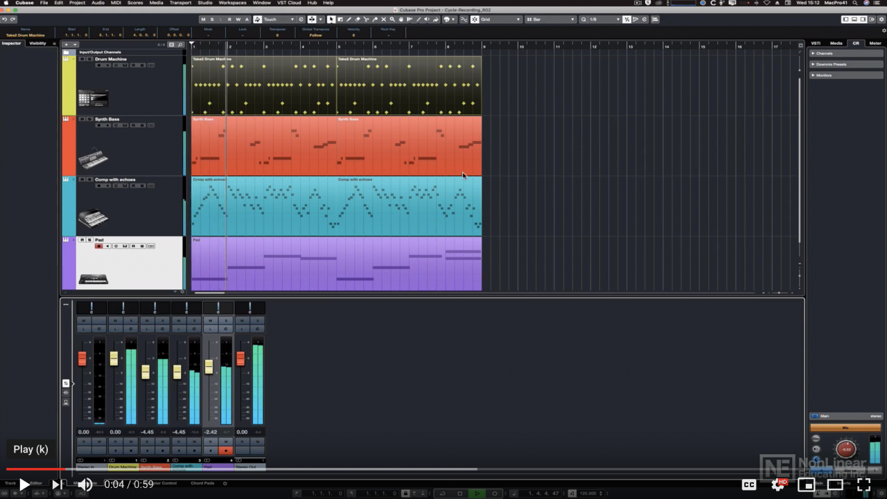 Cubase 10 MIDI Recording and Editing
