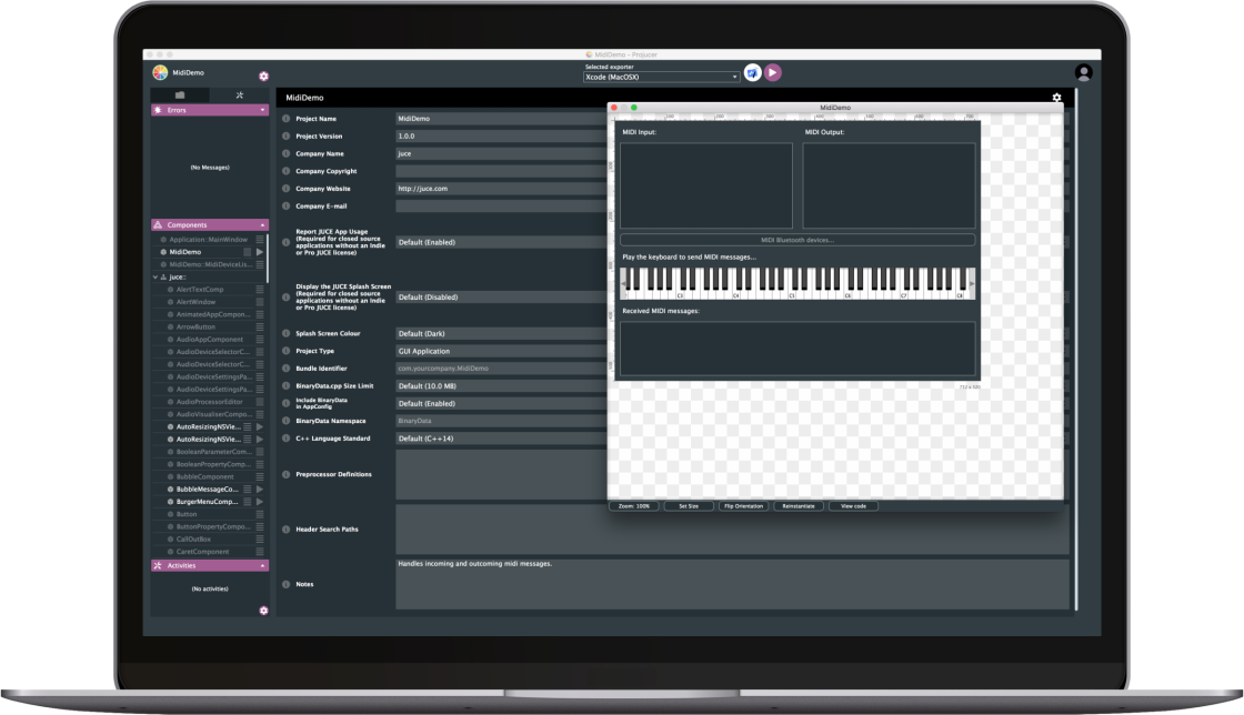 Projucer: Deliver music apps for desktop and mobile, with