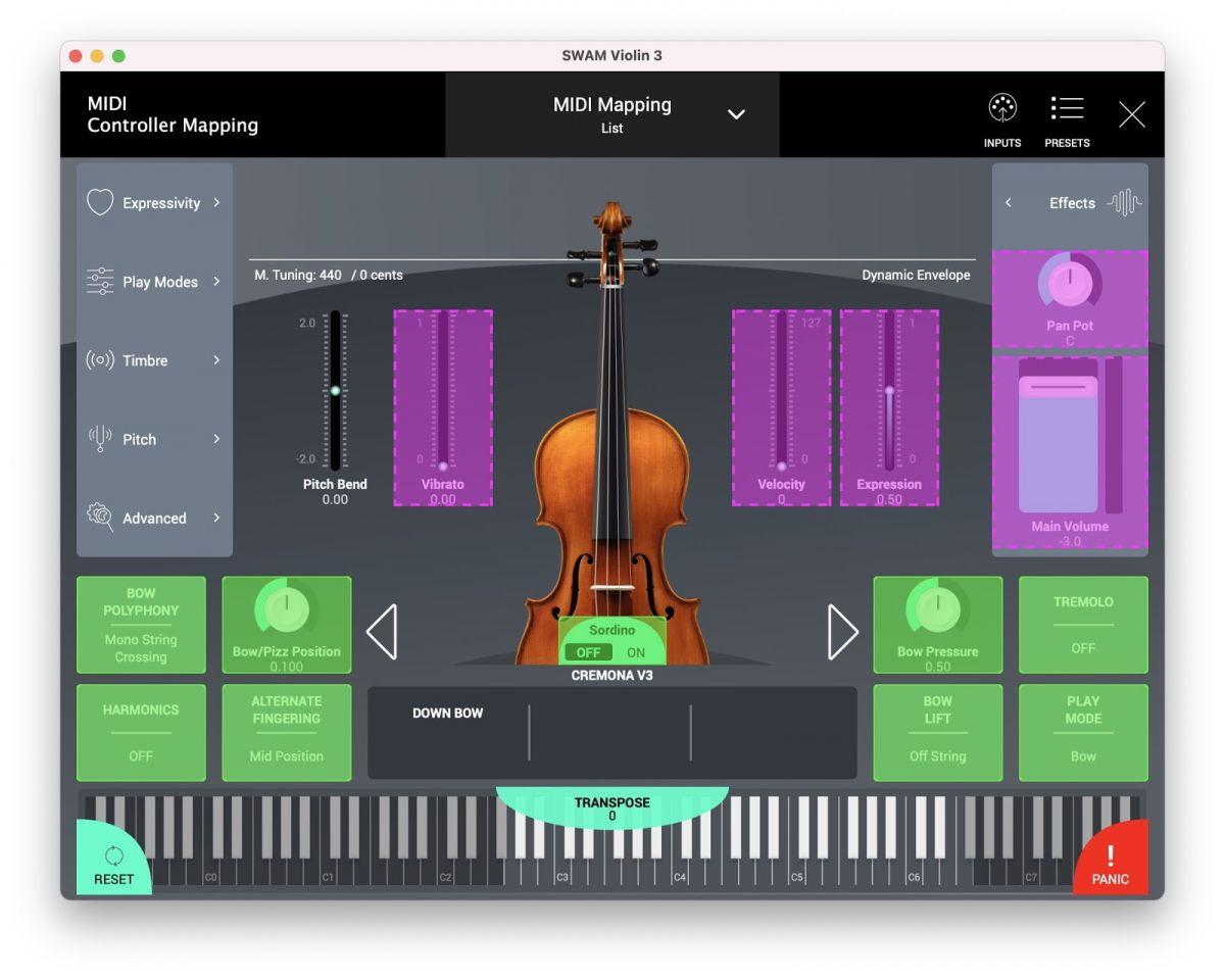 SWAM_Violin_v3_MIDI_Mapping