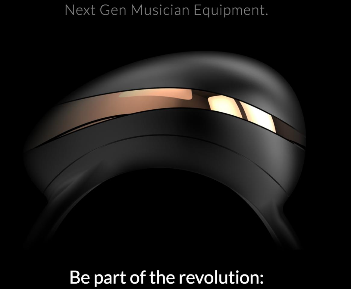 The Enhancia Ring MIDI Controller at CES 2018